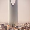Saudi Arabia - Riyadh - الرياض - ar-Riyāḍ - The Gardens - Capital and largest city of Saudi Arabia - Burj Al Mamlakah - Kingdom Centre Tower - برج المملكة - Supertall skyscraper in the center Riyadh
