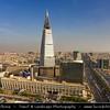 Saudi Arabia - Riyadh - الرياض - ar-Riyāḍ - The Gardens - Capital and largest city of Saudi Arabia - Al Faisaliah Tower - The first skyscraper built in Saudi Arabia