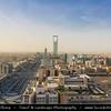 Saudi Arabia - Riyadh - الرياض - ar-Riyāḍ - The Gardens - Capital and largest city of Saudi Arabia - Kingdom Centre Tower - برج المملكة - Supertall skyscraper in the center Riyadh