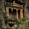 Fethiye, Lycian Rock Tombs (4th century)