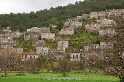 Kayakˆy, abandoned village