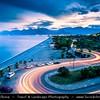 Middle East - Turkey - Türkiye - Mediterranean coast of southwestern Turkey - Antalya - International sea resort located on the Turkish Riviera - Konyaaltı Beach - One of the two main beaches of Antalya located on the western side of the city stretching for 7 km from the cliffs to the Beydağları mountains