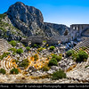 Middle East - Turkey - Türkiye - Antalya Province - Taurus Mountains - Termessos - Pisidian city built at an altitude of more than 1000 meters at mountain Solymos - One of the best preserved of the ancient cities of Turkey