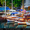Middle East - Turkey - Türkiye - Mediterranean coast of southwestern Turkey - Antalya - International sea resort located on the Turkish Riviera - Kaleiçi - Old Town of Antalya - Picturesque old historical quarter at the center of the sprawling modern city