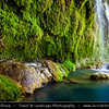 Middle East - Turkey - Türkiye - Southern Anatolia - Antalya Province - Kursunlu Waterfall - Kurşunlu Şelalesi - One of the tributaries of the Aksu River in the midst of a pine forest of exceptional beauty