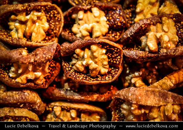 Turkey - Türkiye - Istanbul - Ancient Byzantium & Constantinople - Grand Bazaar - Kapalıçarşı - One of the largest & oldest covered markets in the world, with 61 covered streets & over 3,000 shops - Delicious local sweets