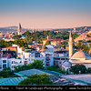 Turkey - Türkiye - Istanbul - Ancient Byzantium & Constantinople - Sultanahmet - Topkapi Palace - Topkapı Sarayı - Former primary residence of the Ottoman Sultans for approximately 400 years - UNESCO World Heritage Site - One of the best-known sights of Istanbul