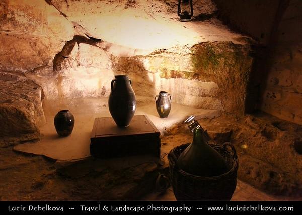 Turkey - Türkiye - Gaziantep - Antep - One of the oldest continually inhabited cities in the world - TUDYALI KONAK BUTİK OTEL - Cave Restaurant