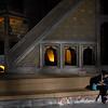 Quiet moment in the Hagia Sophia.