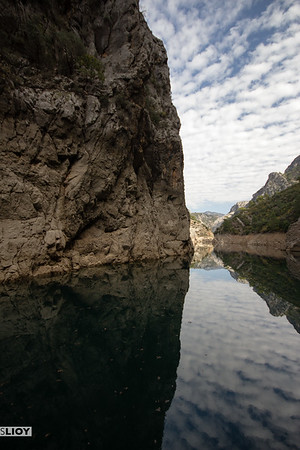 Taurus Mountains and the Green Canyon, near Side.