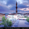 Turkey - Türkiye - Gaziantep - Antep - One of the oldest continually inhabited cities in the world - City Skyline with Mosque Minaret