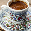 Yet another Turkish coffee in Istanbul.