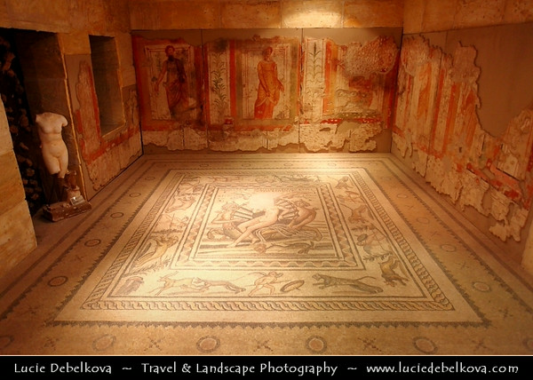 Turkey - Türkiye - Gaziantep - Antep - One of the oldest continually inhabited cities in the world - Zeugma mosaics in Gaziantep Archaeology Museum