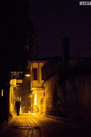 Night on the Streets of Antalya.
