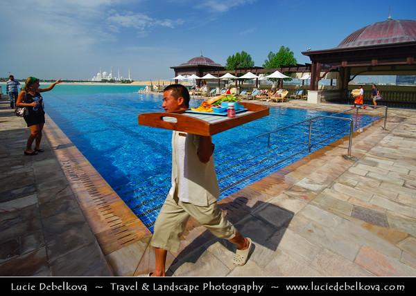 Middle East - GCC - United Arab Emirates - UAE - Abu Dhabi - Luxury hotel