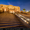 Middle East - GCC - United Arab Emirates - UAE - Abu Dhabi - Emirates Palace - Luxury 7* star hotel built as a landmark showcasing Arabian culture