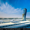 Middle East - GCC - United Arab Emirates - UAE - Abu Dhabi - Hyatt Capital Gate Hotel - Record-breaking Capital Gate building, which inclines 18 degrees