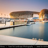 Middle East - GCC - United Arab Emirates - UAE - Emirate of Abu Dhabi - Yas Island - Viceroy Marina - Brand new ultra modern funky skyline