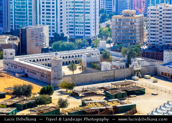 Middle East - GCC - United Arab Emirates - UAE - Emirate of Abu Dhabi - Abu Dhabi - Qasr Al Hosn - White Fort - Oldest stone building in the city of Abu Dhabi
