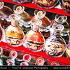 Middle East - GCC - United Arab Emirates - UAE - Dubai - Dubai Creek - Deira - Dubai Spice Souk - Old Souq - Traditional market with stores selling a variety goods - Sand paintings in the bottle