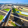 Middle East - GCC - United Arab Emirates - UAE - Dubai - Dubai Airport Area and Dubai Metro Line