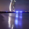 "Middle East - GCC - United Arab Emirates - UAE - Dubai - Burj Al Arab - برج العرب‎ - Tower of the Arabs - Luxury hotel called ""The world's only 7 star Hotel"" located on an artificial island 280 m (920 ft) from Jumeirah beach"