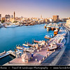 Middle East - GCC - United Arab Emirates - UAE - Dubai - Dubai Creek - Saltwater creek & oldest settlement in modern Dubai with grand wind-tower residences, heritage attractions, alfresco eateries on Shindagha waterfront