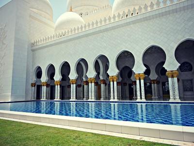 Sheikh Zayed Grand Mosque Exterior