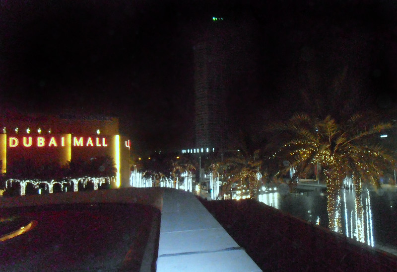 Dubai Mall Night View