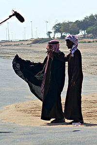 The Sheikh is interviewed