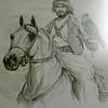 Sheikh Zayed with Falcon