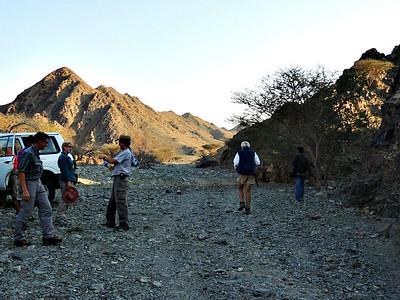 DNHG members at Wadi Wahala