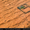 Middle East - GCC - United Arab Emirates - UAE - Empty Quarter Desert - Rub Al Khali - Arabian Desert - Spectacular sea of sand dunes  in vast desert landscape - Aerial View