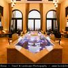Middle East - GCC - United Arab Emirates - UAE - Abu Dhabi Emirate - Empty Quarter Desert - Rub Al Khali - Arabian Desert - Spectacular luxury hotel resort in the middle of sand dunes