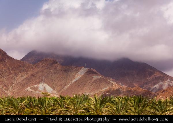 Middle East - GCC - United Arab Emirates - UAE - Fujairah Emirate - Al Badiyah mountainous area