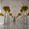 Hallowed Halls of Sheikh Zayed Grand Mosque.