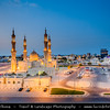 Middle East - GCC - United Arab Emirates - UAE - Emirate of Ras Al Khaimah - RAK - Shaikh Zayed Mosque - One of the most recognizable buildings in Ras al-Khaimah