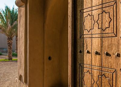 Al Ain Palace doorway