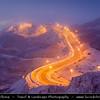 Middle East - GCC - United Arab Emirates - UAE - Al Ain - Jebel Hafeet Mountain Road