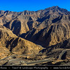 Middle East - GCC - United Arab Emirates - UAE - Ras Al Khaimah Emirate - RAK - Jebel Jais Mountain - Tallest mountain in United Arab Emirates at altitude of 1,925 metres (6,315 feet) in Al Hajar Mountains