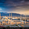 Middle East - GCC - United Arab Emirates - UAE - Emirate of Fujairah - Fujairah - Sheikh Zayed Grand Mosque - Second largest mosque in UAE after the one in Abu Dhabi