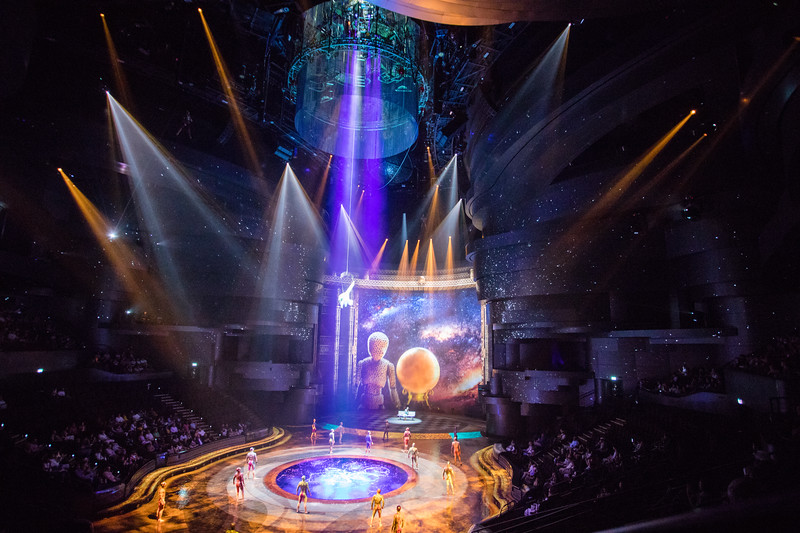 La Perle show by Dragone in Dubai, UAE.