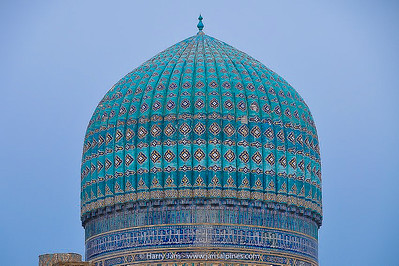dome at Bibi Khanym Mosque (1399-1404)