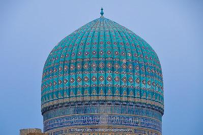 dome at Bibi Khanym Mosque (1399-1404)