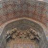 detail tiles at Tilya Kori Madrasah