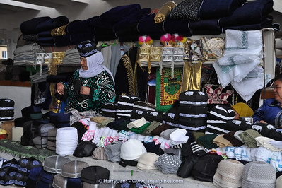 traditional Uzbek headgear: Tubeteika