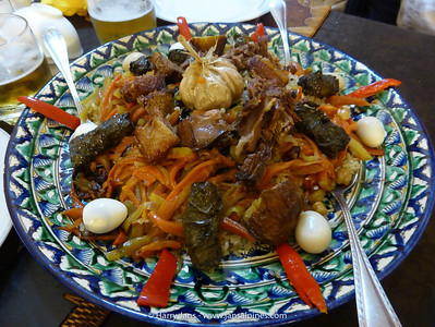 Uzbek traditional food