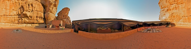 Bedouin Camp Panorama