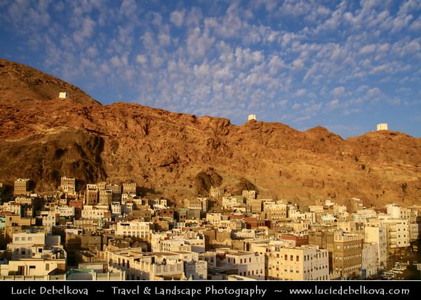 Middle East - Yemen - Hadramaut Governorate - Al Mukalla - المكلا - Al Mukhala - Al Mukala - Main sea port in the southern part of Arabia on the Gulf of Aden