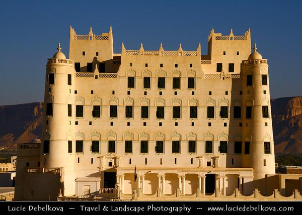 Middle East - Yemen - Hadramaut Governorate - Say'un - Saywun - Seiyun - سيئون - Historical town in Hadhramaut Valley